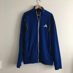 Adidas ClimaLite Athletic Full Zip Up Jacket